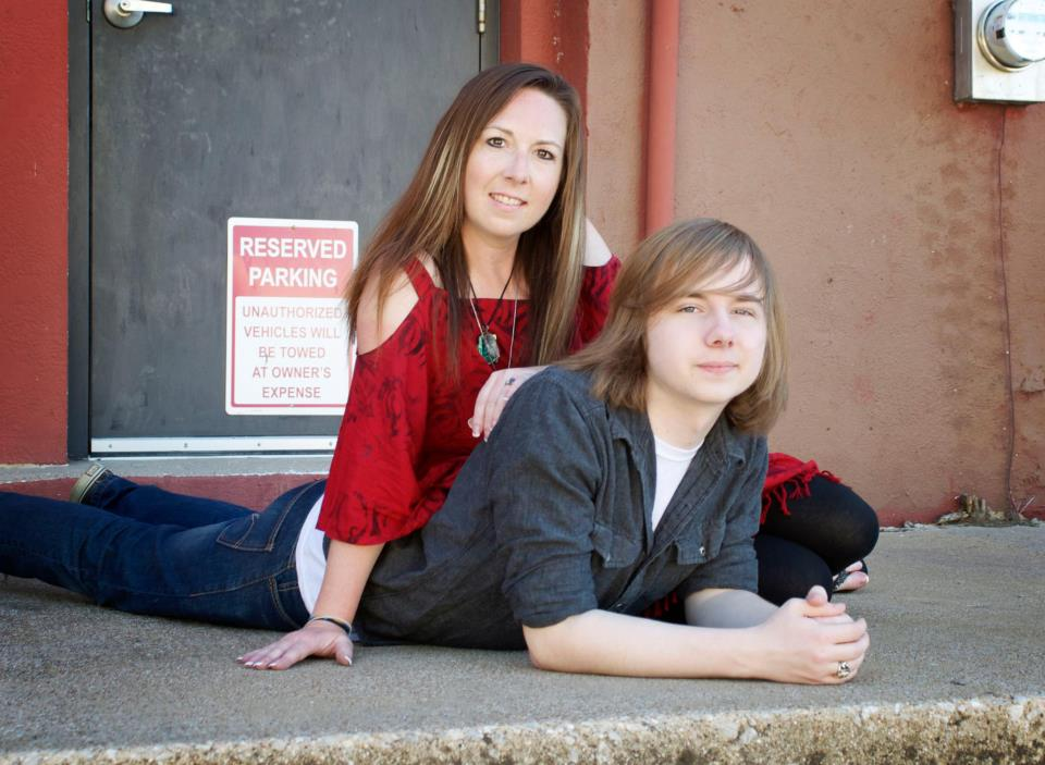My son and I during his Senior Pictures....